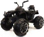 Elektrische Quad 12v zwart voor Kinderen - Elektrische Kinder quad Accu - Accu quad