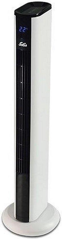 Solis Easy Breezy 757 Toren Ventilator Staand met Afstandsbediening - 91 cm - Wit