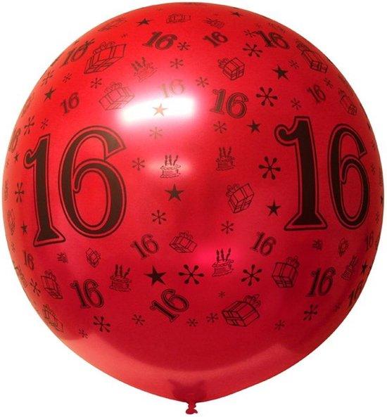Mega top-ballon SWEET 16, 3ft = 90 cm
