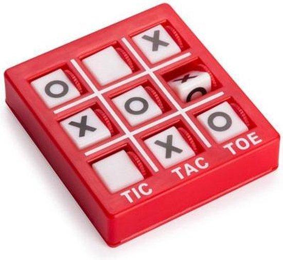 Afbeelding van het spel 12x Mini boter kaas en eieren spel - klein spelletjes - Feestje uitdeelcadeautjes voor kinderen