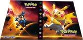 Afbeelding van Pikachu Libre verzamelmap met Lucario - Plek voor 240 Pokémon kaarten (Map / Portfolio)