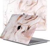 Lunso - cover hoes - MacBook Pro 13 inch (2020) - Marble Vera