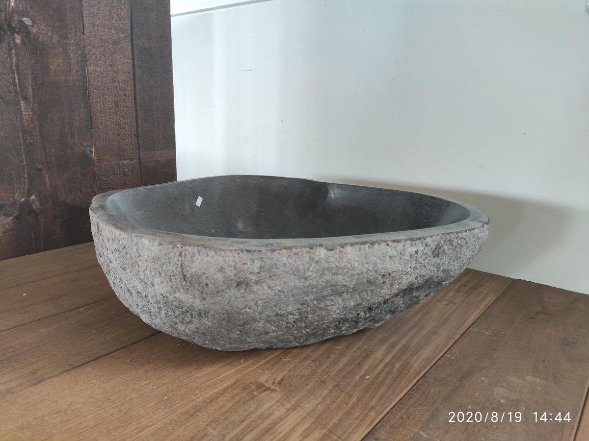 Bali riverstone waskom 49x48x16