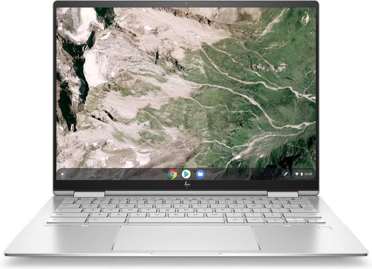 "HP Chromebook Elite c1030 Enterprise DDR4-SDRAM 34,3 cm (13.5"") 1920 x 1280 Pixels Touchscreen Intel® 10de generatie Core™ i3 8 GB 128 GB SSD Wi-Fi 6 (802.11ax) Chrome OS Zilver"