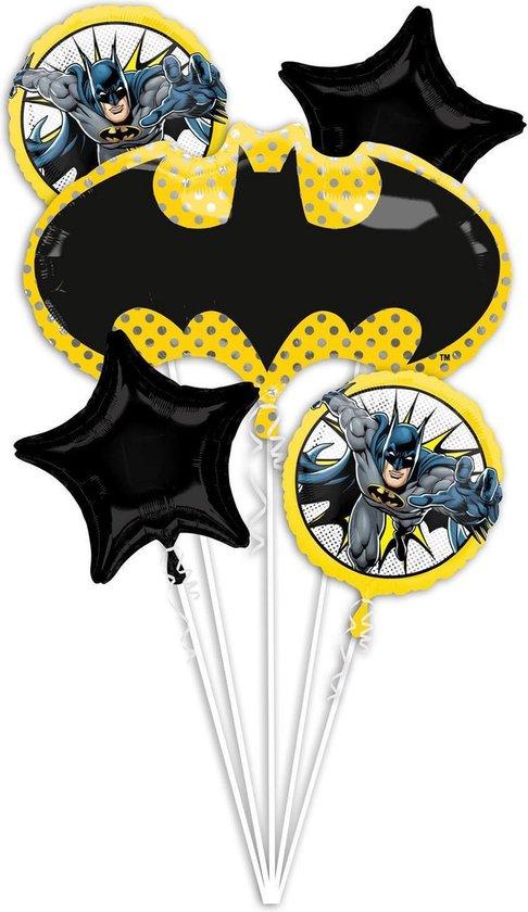 Batman Helium Ballonnen set 5 delig