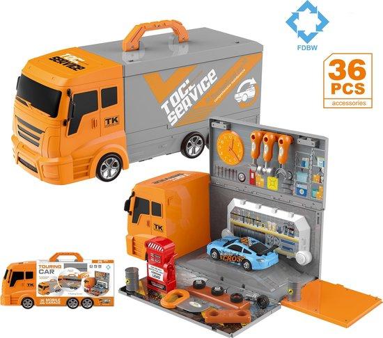 Afbeelding van FDBW Speelgoedgarage met Auto speelgoed