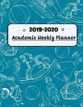 2019-2020 Academic Weekly Planner: Dated 8.5 x 11 Calendar With To-Do List Notebook
