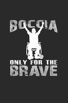 Boccia only for the brave: 6x9 BocciaCrossbocia - dotgrid - dot grid paper - notebook - notes