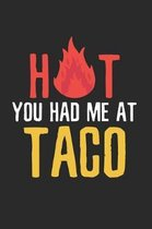 Halloween Hot Tacos Notebook