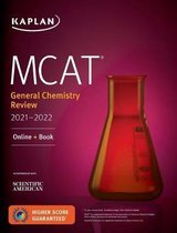 Boek cover MCAT General Chemistry Review 2021-2022 van Kaplan Test Prep