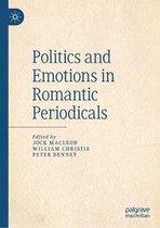 Boek cover Politics and Emotions in Romantic Periodicals van