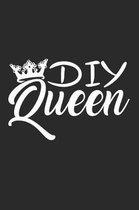 DIY Queen: 6x9 DIY - dotgrid - dot grid paper - notebook - notes