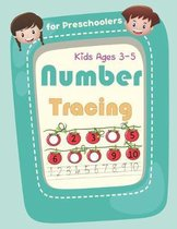 Number Tracing Book for Preschoolers and Kids Ages 3-5
