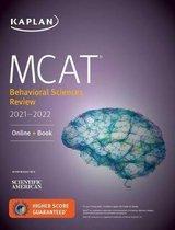 Boek cover MCAT Behavioral Sciences Review 2021-2022 van Kaplan Test Prep
