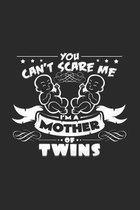 I'm a mother of twins: 6x9 Twins - dotgrid - dot grid paper - notebook - notes