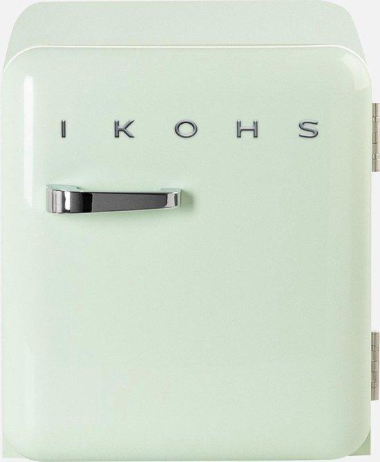 Koelkast: IKOHS Retro Mini Koelkast - 48 Liter - Groen, van het merk Ikohs
