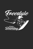 Freestyle Wakeboarding: 6x9 Wakeboarding - dotgrid - dot grid paper - notebook - notes