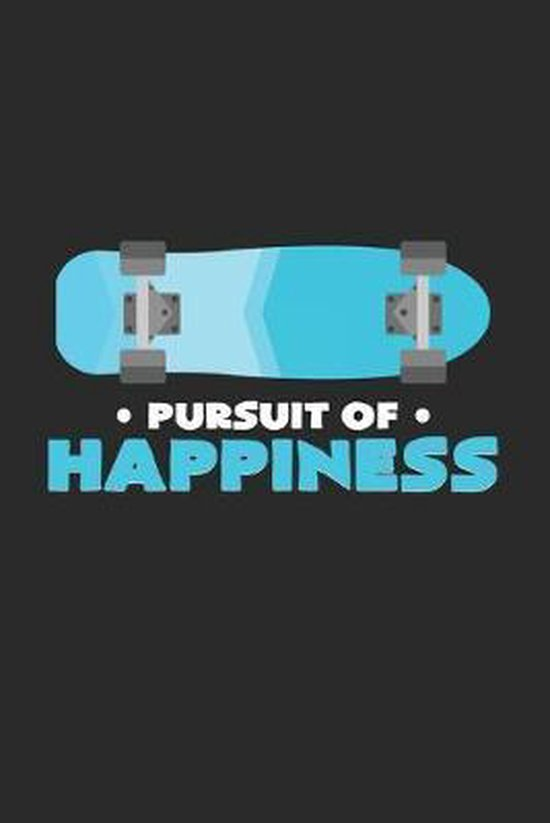 Pursuit of happiness: 6x9 Skateboarding - grid - squared paper - notebook - notes