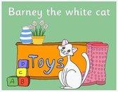 Barney the white cat