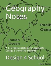 Geography Notes: A 136 Pages notebook for geography Collage & University Students