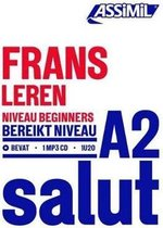 Frans Leren - Niveau Debutants A2 (1 Book 1 Cd Mp3)