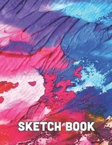 Sketch Book: Artist Sketchbook: Sketching, Drawing and Creative Doodling For Kids Teens and Adults. 120 Pages 8.5''x11''