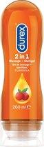 Durex Play Massage 2 in 1 Stimulating Massagegel met Guarana - 200 ml