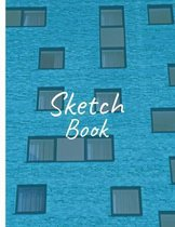 Sketch Book: 8.5'' X 11'' Personalized Artist Sketchbook 130 pages for Sketching, Drawing and Creative Doodling. Notebook and Sketchb