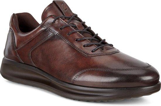 | ECCO Aquet Heren Sneaker Bruin Maat 39
