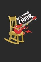 Rocking chair: 6x9 Guitar - dotgrid - dot grid paper - notebook - notes