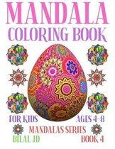 Mandala Coloring Book for Kids Ages 4-8