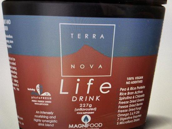 Terranova Life drink Inhoud:227 gram