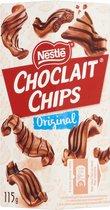 Choclait Chips Brown 6 x 115 gram