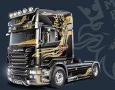 "Italeri Scania R730 V8 Topline ""Imperial"" Montagekit Vrachtwagen/oplegger Modelbouw 1:24"