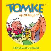 Boek cover Tomke op fakânsje van Geartsje Douma