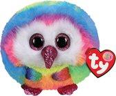 TY Teeny Puffies Owen Owl 10cm
