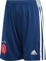 adidas Ajax Uitshort 2020-2021 Kinderen - Donkerblauw - Maat 164