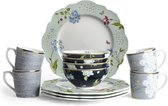 Laura Ashley Heritage 12 delige serviesset (4 persoons)