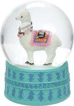 Sneeuwbol alpaca lama