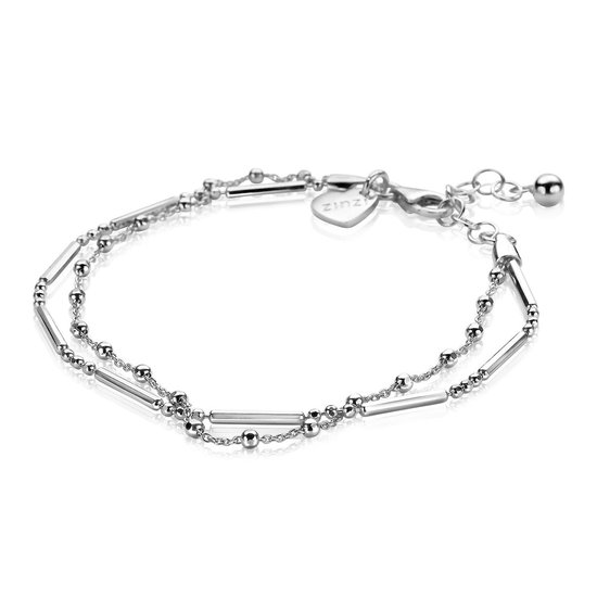 ZINZI zilveren multi-look armband ZIA1461