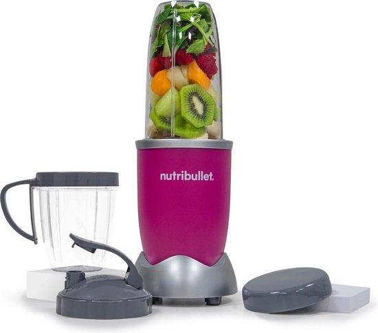 NutriBullet Pro - 9-delig - 900 Watt - Blender - Roze