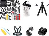Gopro Hero Accessoires set 50 in 1 van DommAr - Action Camera Accessoires Kit in Luxe Opbergkoffer -Gopro Hero 10 - Gopro Hero 9 -Gopro Hero 8