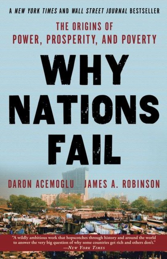 Boek cover Why Nations Fail van Daron Acemoglu (Paperback)