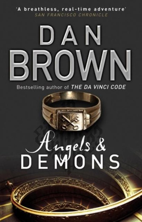 Boek cover Angels and demons van Dan Brown (Paperback)