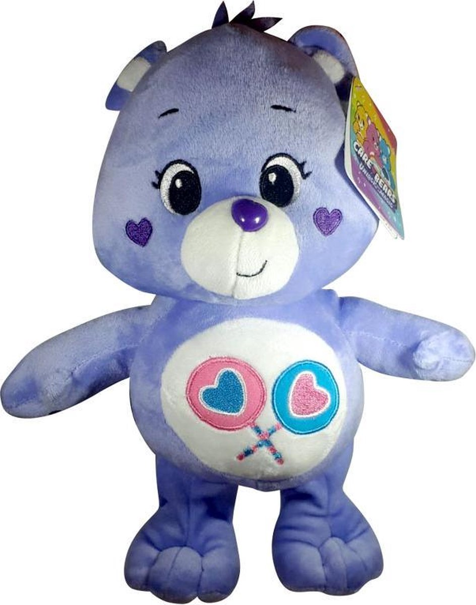 Care Bears Pluche Knuffel Paars 30cm