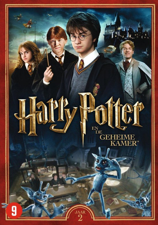 Cover van de film 'Harry Potter and the Chamber of Secrets'