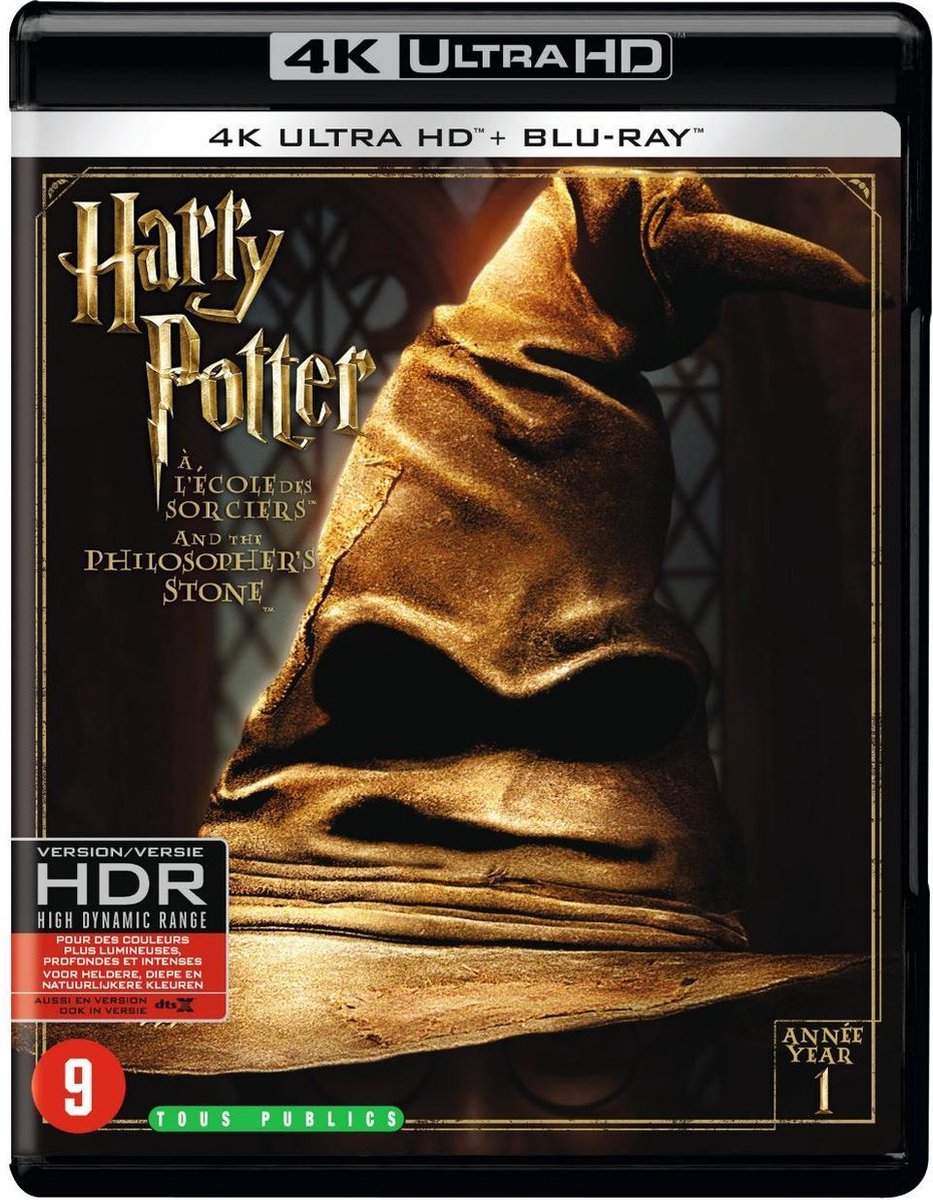 Harry Potter and the Philosopher's Stone (4K Ultra Blu-ray)-