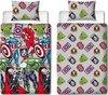 Avengers dekbedovertrek - 1 persoons - Marvel Avenger dekbed