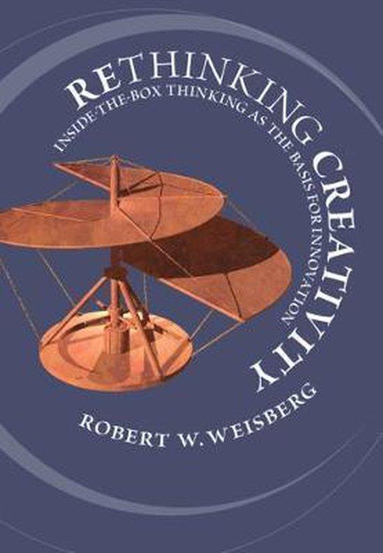 Boek cover Rethinking Creativity van Robert W. Weisberg (Hardcover)