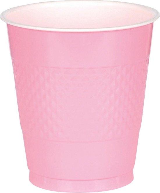 Bier pong bekers pink 50 stuks